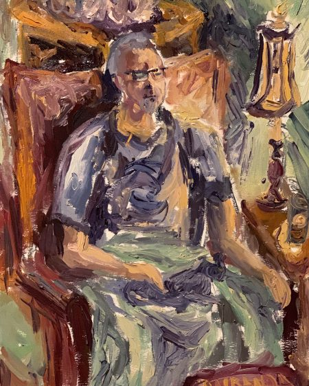 The Artist's Father at Home